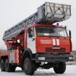 Автолестница пожарная АЛ-37 (43118)