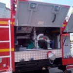 Aвтоцистерна пожарная с лестницей АЦЛ 4,0-40/30(43118)