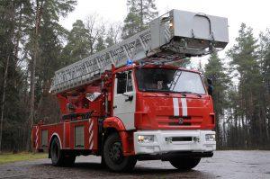 Автолестница пожарная АЛ-30 (43502)