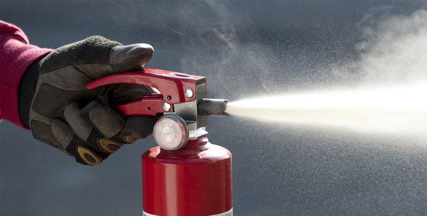 Типы пожаров и огнетушители