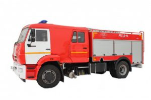 Автоцистерна пожарная АЦ 3,0-40 (43253)
