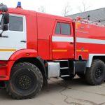 Автоцистерна пожарная АЦ 6,0 – 40 (43118) на шасси КАМАЗ