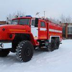 Автоцистерна пожарная АЦ 5,5 – 60 (5557) на шасси УРАЛ