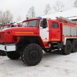 Автоцистерна пожарная АЦ 5,5 – 70 (5557) на шасси УРАЛ