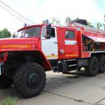 Автоцистерна пожарная АЦ 6,0 – 40 (4320)С на шасси УРАЛ