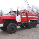 Автоцистерна пожарная АЦ 6,0 – 40 (5557) на шасси УРАЛ
