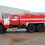Автоцистерна пожарная АЦ 6,0 – 60 (5557)С на шасси УРАЛ