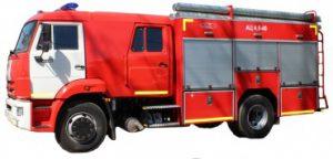 Автоцистерна пожарная АЦ 4,0-40 (43253) ПП