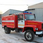 Автоцистерна пожарная АЦ 3,0-40 (33086) на шасси ГАЗ