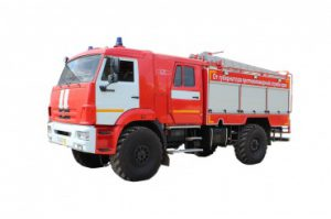 Автоцистерна пожарная АЦ 3,0 – 40 (43502)