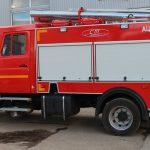 Автоцистерна пожарная АЦ 3,2-40 (4308) на шасси КАМАЗ