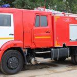 Автоцистерна пожарная АЦ 5,0-40 (43253) на шасси КАМАЗ