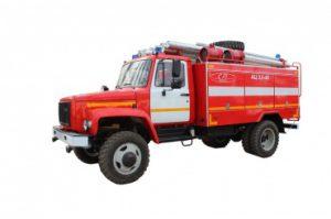 Автоцистерна пожарная АЦ 3,0-40 (33086)