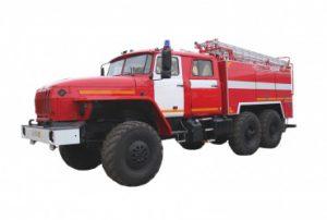 Автоцистерна пожарная АЦ 6,0-40 (5557)