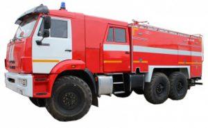 Автоцистерна пожарная АЦ 6,0-40 (43118)