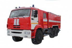Автоцистерна пожарная АЦ 8,0 – 40 (43118) на шасси КАМАЗ