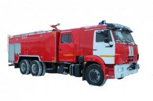 Автоцистерна пожарная АЦ 10,0-40 (65115)