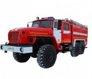 Автоцистерна пожарная АЦ 5,5 – 60 (5557)