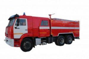 Автоцистерна пожарная АЦ 7,0 – 40 (65115) на шасси КАМАЗ