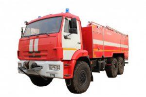 Автоцистерна пожарная АЦ 9,0 – 40 (43118) на шасси КАМАЗ