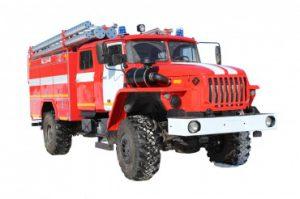 Автоцистерна пожарная АЦ 3,0 – 40 (43206)