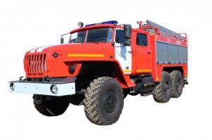 Автоцистерна пожарная АЦ 4,0 – 40 (5557)