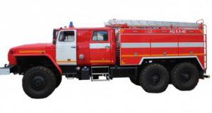 Автоцистерна пожарная АЦ 6,0-40 (4320)С