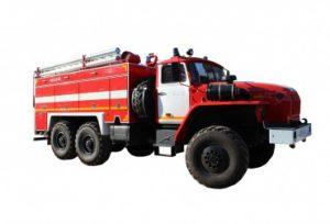 Автоцистерна пожарная АЦ 6,0-60 (5557)