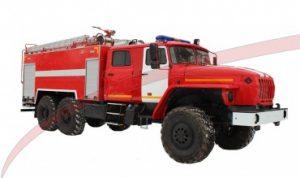 Автоцистерна пожарная АЦ 7,0 – 70 (4320)