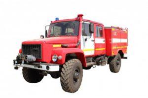 Автоцистерна пожарная АЦ 1,0 -40 (33088)Л