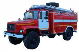 Автоцистерна пожарная АЦ 1,6 -40 (33088) Л-1каб.