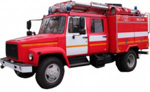 Автоцистерна пожарная АЦ 2,5-40 (33086)