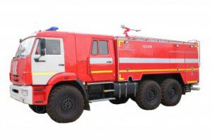 Автоцистерна пожарная АЦ 6,0 – 60 (43118) на шасси КАМАЗ