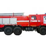Пожарная автоцистерна АЦ 7,0-40 (43118) с объемом цистерны 7000 л.