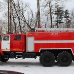 Автоцистерна пожарная АЦ 8,0 – 70 (4320) с объемом бака для пенообразователя 560 л.