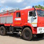 Автоцистерна пожарная АЦ 3,0 – 40 (43502) на шасси КАМАЗ