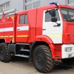 Автоцистерна пожарная АЦ 3,0 – 40 (5350) на шасси КАМАЗ