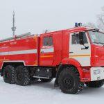 Автоцистерна пожарная АЦ 8,0-40 (43118) объем бака для пенообразователя 480 л.