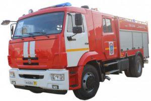Автомобиль пожарно-спасательный АПС 2,5-40/100-4/400 (43253)