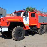 Автоцистерна пожарная АЦ 4,0 – 40 (5557) с колесной формулой 6*6