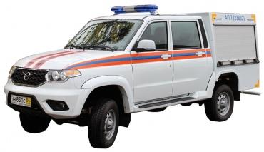 Автомобиль первой помощи АПП 0,2 – 0,5 (Pickup)
