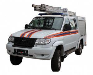 Аварийно-спасательный автомобиль АСА (Pickup)