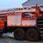 Пожарная автоцистерна с лестницей АЦЛ 3,0-40-30 (4320)