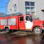 Автоцистерна пожарная на шасси ГАЗ