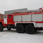 Автоцистерна пожарная АЦ 5,5 – 70 (5557) колесная формула 6*6