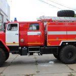 Пожарная автоцистерна АЦ 6,0 – 40 (4320)С имеет колесную формулу 6*6, что обеспечивает повышенную проходимость