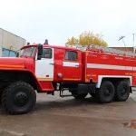 Пожарная автоцистерна АЦ 6,0 – 60 (5557)С от Тортехмаш с объемом цистерны 6000 л.