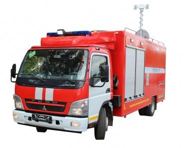 Пожарно-спасательный автомобиль с медицинским модулем ПСА-ММ (Fuso Canter)