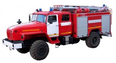 Автомобиль пожарно-спасательный АПС 3,0-40/100-4/400 (43206)