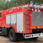 Автоцистерна пожарная АЦ 5,0-40 (43253) на шасси КАМАЗ имеет колесную формулу 4х2